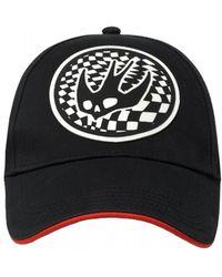 McQ Swallow Logo Baseball Cap, Black Hat