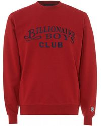 BBCICECREAM - Embroidered Script Sweatshirt, Red Sweat - Lyst