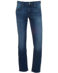 BOSS by Hugo Boss - Orange63 Jeans, Slim Fit Mid Whisker Stretch Denim - Lyst