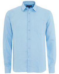 Vilebrequin - Long-sleeved Linen Shirt - Lyst