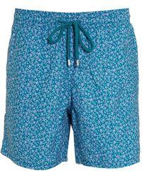 Vilebrequin - Moorea Micro Turtles-print Swim Shorts - Lyst
