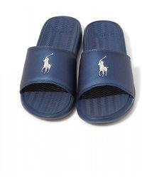 Polo Ralph Lauren Rodwell Sliders - Blue