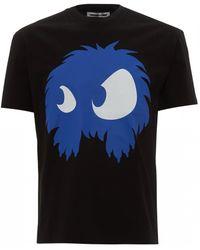 McQ Monster Print T-shirt, Black Tee