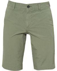BOSS Schino-slim-shorts D Cotton Light Green Shorts