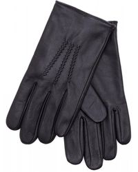 BOSS Black Griffin Leather Gloves