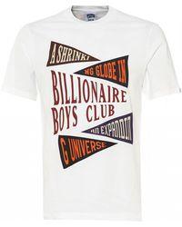 BBCICECREAM Pennant Print T-shirt, White Tee