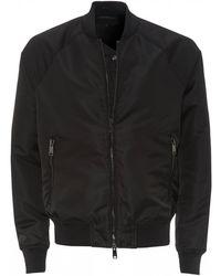 Emporio Armani Emporio Full Zip Bomber Jacket Black