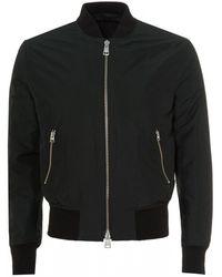 AMI Zipped Bomber, Dark Green Jacket