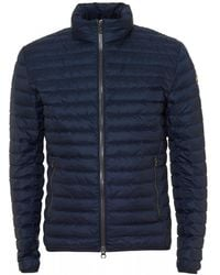 Colmar - Down Insulated Navy Blue Jacket - Lyst