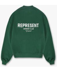 Represent Represent Owners Club Jumper - Green