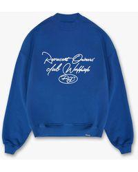 Represent Roc Worldwide Jumper - Blue