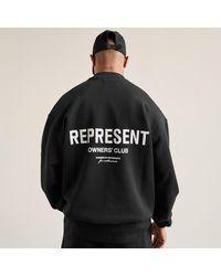 Represent Represent Owners Club Jumper - Black