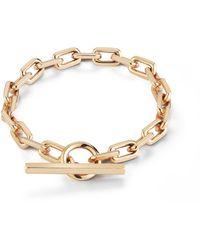 WALTERS FAITH Saxon Toggle Chain Link Bracelet - Metallic