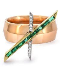 Emily P. Wheeler X Cigar Ring - Multicolor