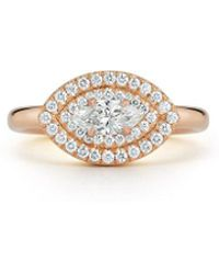 Jemma Wynne Privé Marquis Ring - Metallic