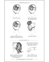 Deborah Pagani Silver Solid Pill Hair Cuff - Metallic
