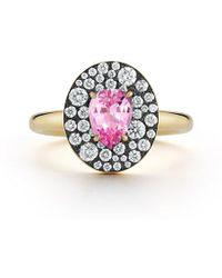 Jemma Wynne Privé Oval Pink Sapphire Ring