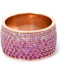Emily P. Wheeler Ombre Borderless Cigar Ring - Purple