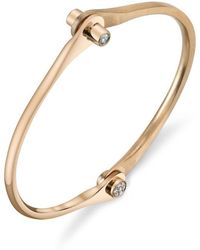 Borgioni Skinny Diamond Handcuff - Metallic
