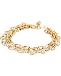Natalie B. Jewelry Браслет Sutton В Цвете Золотой - Металлик