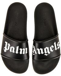 Palm Angels Сандалии В Цвете Черный