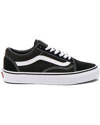 Vans Old Skool Platform Trainers - Black
