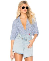 Sundry - Ditzy Floral Oversized Shirt - Lyst