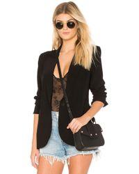 Norma Kamali Single Breasted Jacket - Black