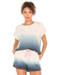 The Upside Lea Tシャツ - ブルー
