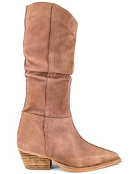 Free People Sway Slouch Boot - Lila