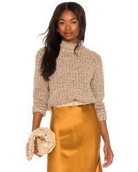 MINKPINK Tiri High Neck Knit Sweater - Multicolor