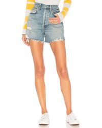 Agolde Dee Shorts - Blau