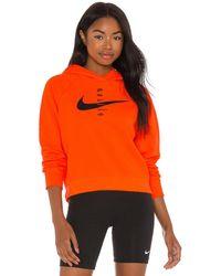Nike Swoosh パーカー - オレンジ