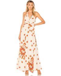 House of Harlow 1960 X Revolve Bloom Dress - Orange