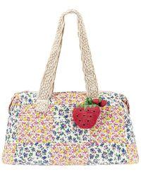 LoveShackFancy Oran Weekend Bag - Multicolor
