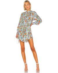 Marissa Webb Winnie Print Dress - Blau