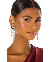 Jennifer Behr Aida Chandelier Earring - Metallic