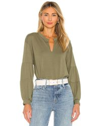 1.STATE - Puff Sleeve Blouse - Lyst