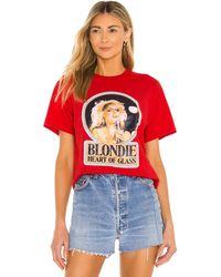 Junk Food Футболка Blondie В Цвете Красный