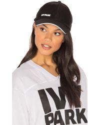 b3a6505d21e Ivy Park - Logo Baseball Cap - Lyst