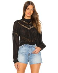 Free People - Abigail Victorian Top - Lyst