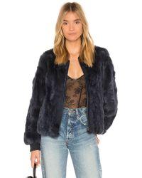 Heartloom - Poli Dyed Rex Rabbit Fur Jacket - Lyst