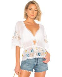 House of Harlow 1960 - X Revolve Josette Top In White - Lyst