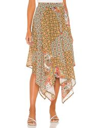 Free People Stay Awhile Maxi Skirt - Mehrfarbig