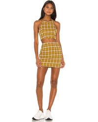 superdown Deon Skirt Set - Gelb