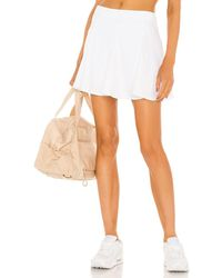 Year Of Ours The Tennis Skort - White
