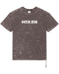 Ksubi Футболка Sign Of The Times BIGGIE В Цвете Серый. Размер S (также В Xl).