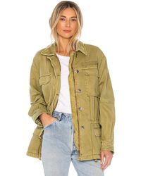 Free People Seize The Day Jacket - Green