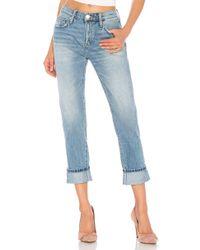 Current/Elliott - Jeans boyfriend the fling en color azul - Lyst