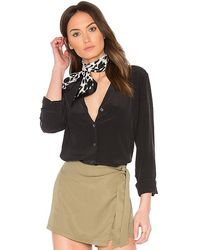 Equipment Adalyn Blouse - Black